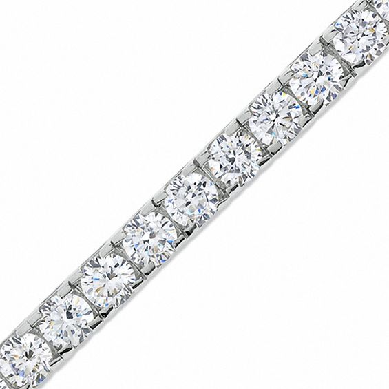 T W Diamond Tennis Bracelet In 14k White Gold J I2