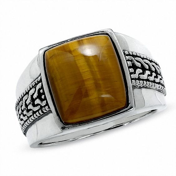 images men rings on big pinterest tiger tigers eye vintage ring best eyes gold cats mens