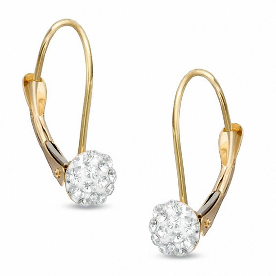 Zales Teardrop Earrings in 14K Gold 3rxzIz2twb