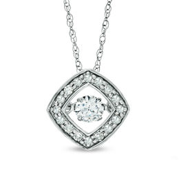 Clearance necklaces clearance zales outlet tw diamond linear three stone pendant in 10k aloadofball