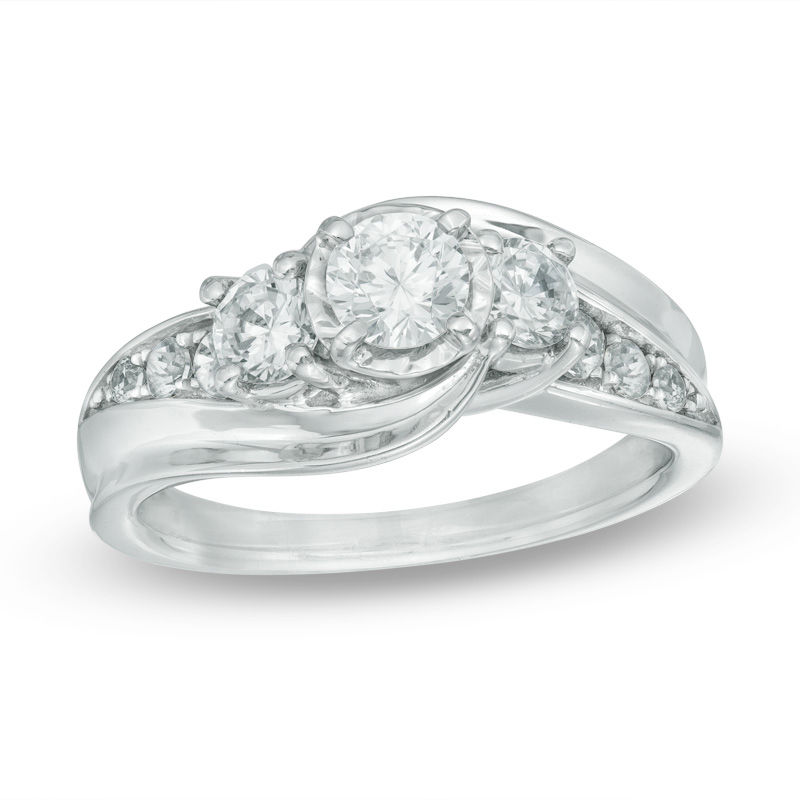 w engagement present wedding past c ring princess future collections outlet zales rings in t cut v diamond