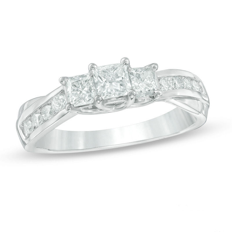 w rings future b trilogy ring diamond wedding stone product r category past three present engagement