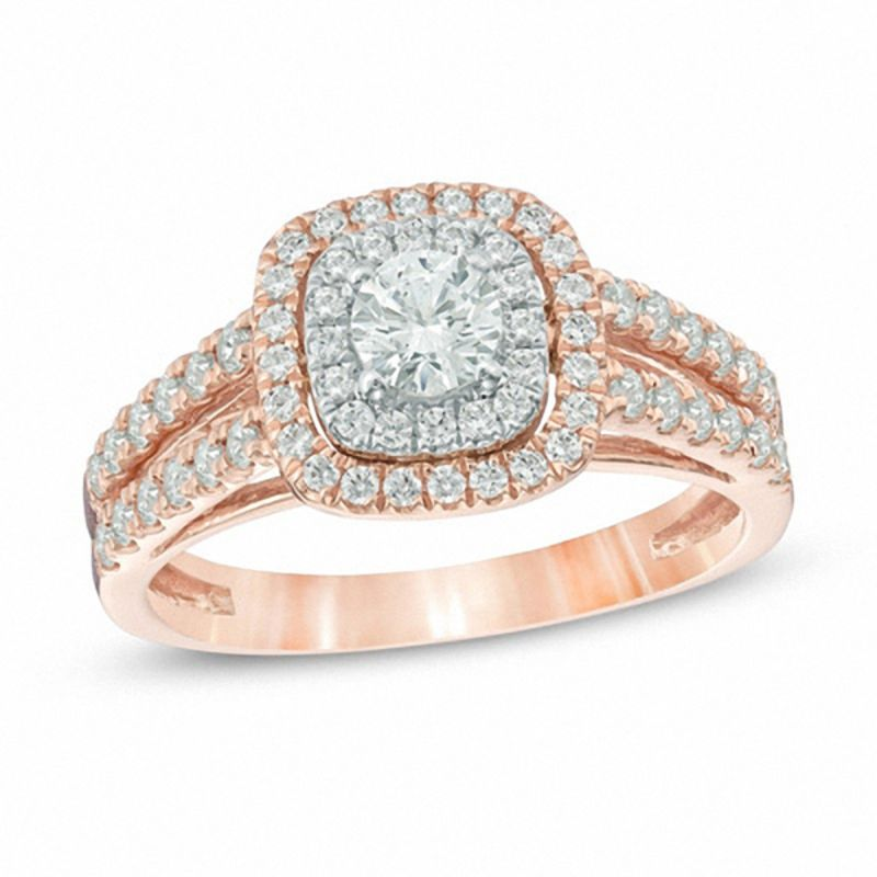 Rose Gold Wedding Rings Wedding Zales Outlet