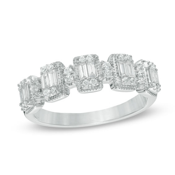 anniversary stone setting ct t trellis round set low diamond band product carat bands shank w