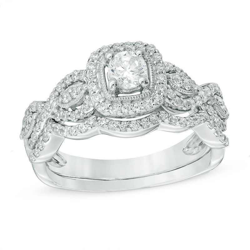 VintageInspired Wedding Rings Wedding Zales Outlet