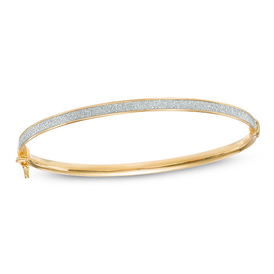 mm hollow bracelet real link gold inches figaro mens yellow