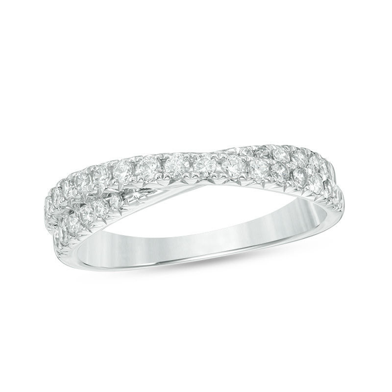 main band carat cut ring bands platinum diamond eternity asscher anniversary