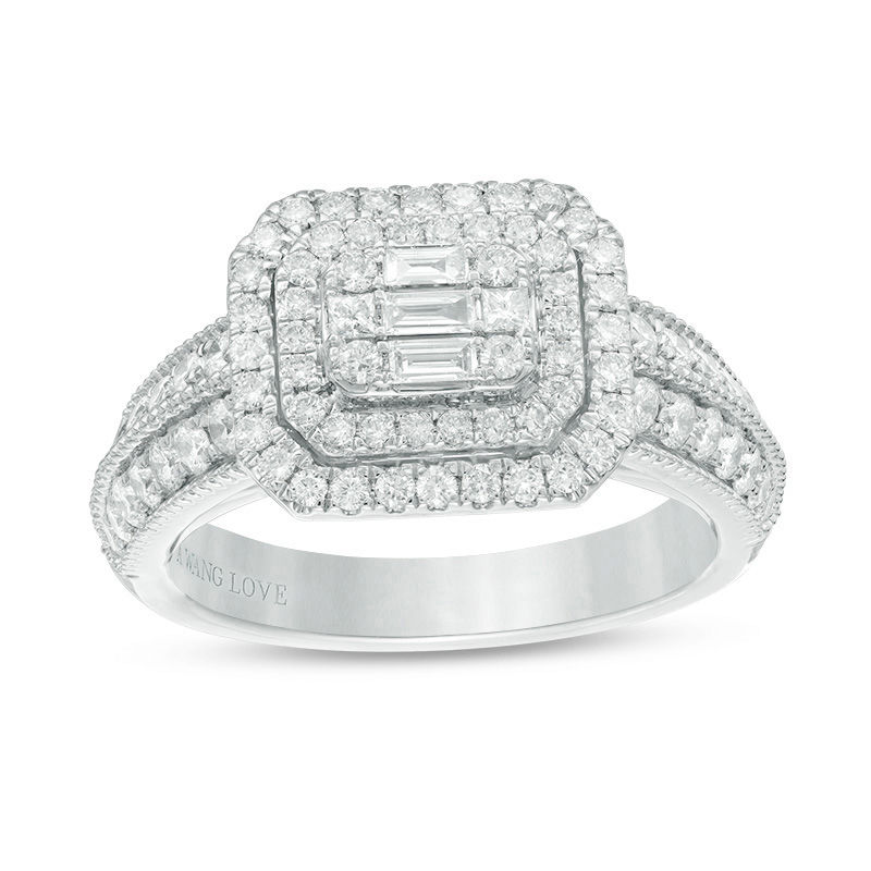 t engagement diamond tw white in w composite gold ring ct v p