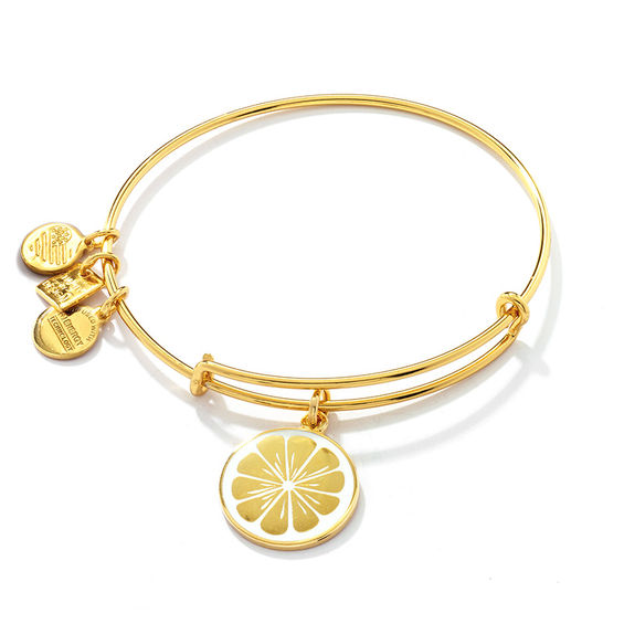 charm bracelet intertwined bangle jumbo bangles mynamenecklace with product hearts